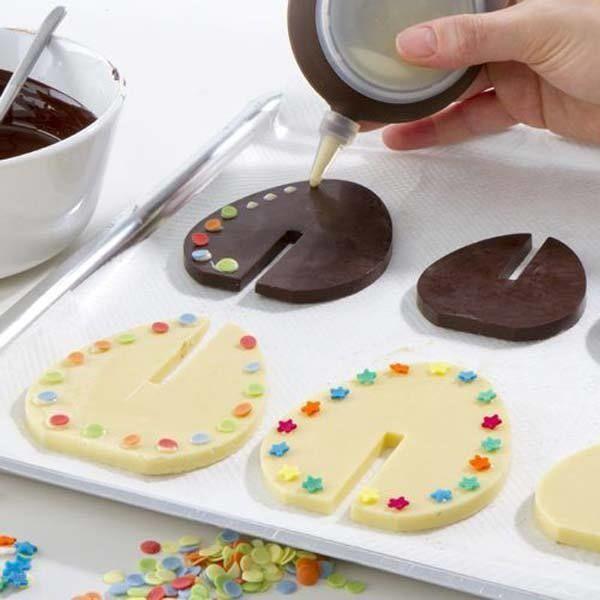 GiftWorld 3D foremka do czekolady JAJKA.