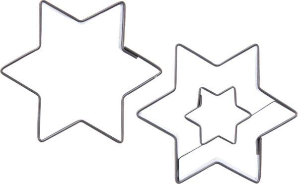 Orion Wykrawacz foremka do ciastek pierników GWIAZDA 2x uniwersalny.