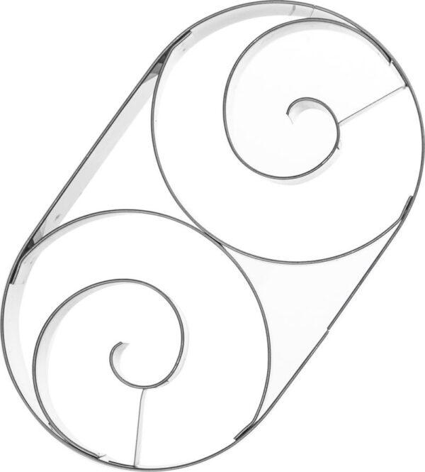 Orion Wykrawacz / foremka do ciastek pierników ROGALIK uniwersalny.