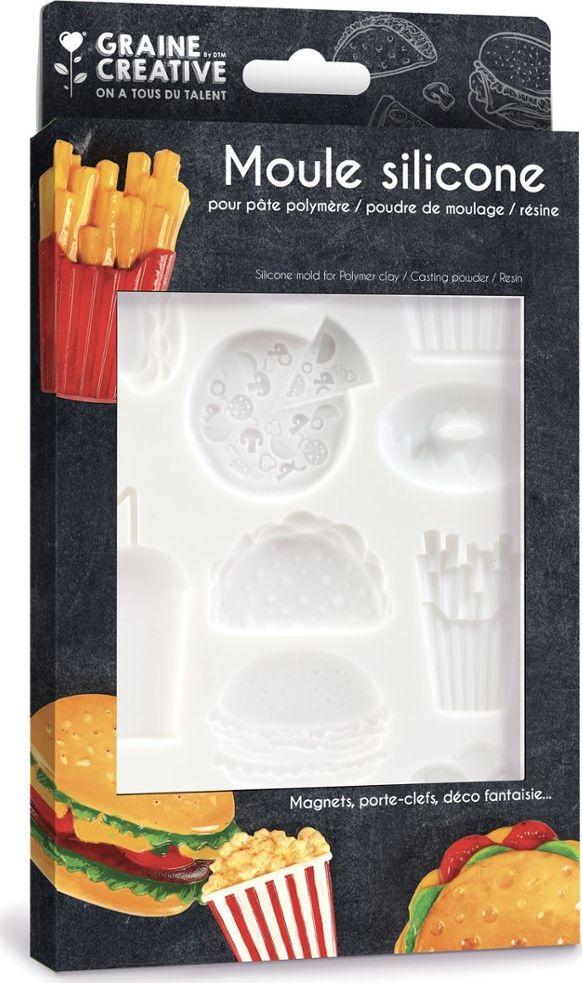 Foremka Silikonowa 20x13 cm Junk Food.