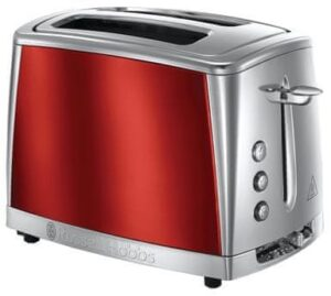 Russell Hobbs Toster 23220-56/RH Luna Toaster 2SL Red.