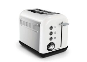 Toster Accents White 2 tosty Morphy Richards.