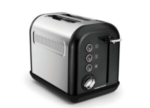 Toster Accents Black 2 tosty Morphy Richards.