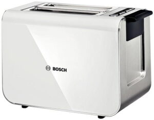 BOSCH Toster BOSCH Styline TAT 8611 (860W; kolor srebrny).