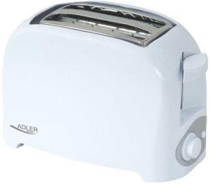 Adler Toster Adler AD 321 (750W; kolor biały).