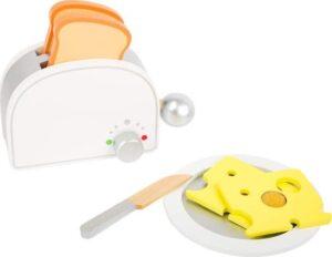 Drewniany toster do zabawy dla dzieci - BIAŁY uniw.