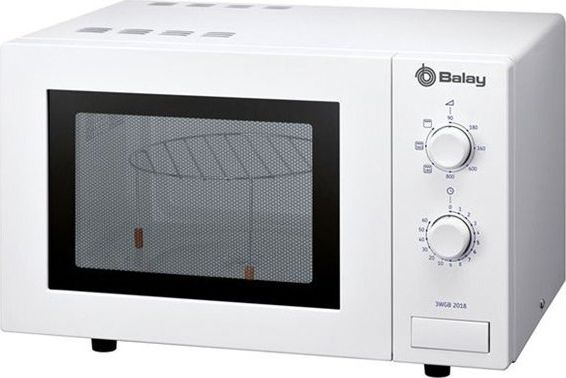 Kuchenka mikrofalowa Balay Mikrofalówka z Grillem Balay 3WGB2018 17 L 800W Biały