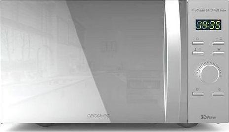 Kuchenka mikrofalowa Cecotec Mikrofalówka z Grillem Cecotec ProClean 5120 20 L 700W Srebrzysty