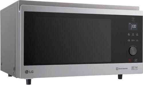 Kuchenka mikrofalowa LG Kuchenka Mikrofalowa LG MJ3965ACS 39 L 1200W Czarny Stal nierdzewna