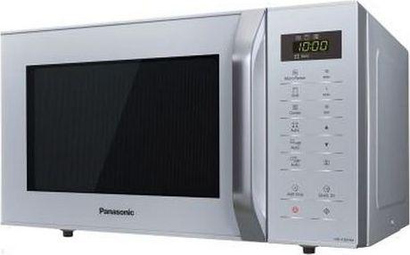 Kuchenka mikrofalowa Panasonic Mikrofalówka z Grillem Panasonic NN-K36HMMEPG 23 L Srebro