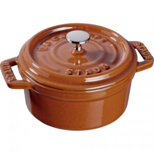 mini garnek żeliwny okrągły 250 ml